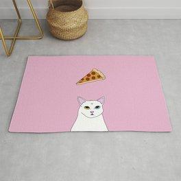 Fat D. Loves Pizza Rug