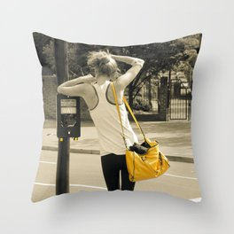 WAIT #2 Throw Pillow