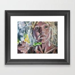 Lex! Framed Art Print