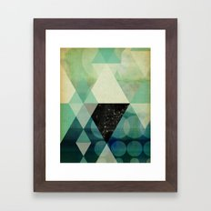 GEOMETRIC 003 Framed Art Print