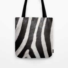 Zebra strips Tote Bag