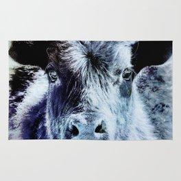Calf is Blue Rug