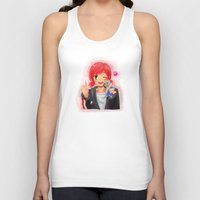 garrus Tank Tops featuring Mass Effect - Shepard with Garrus Doll by Choco-Minto