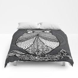 Doodle Owl Comforters