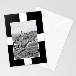 Cornish Tin Mine And Flag Stationery Cards