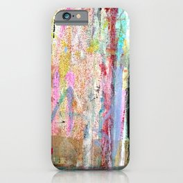 Colorful Bohemian Abstract 1 iPhone Case