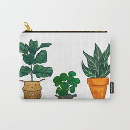 Potted Plant Critters 3 Carry-All Pouch