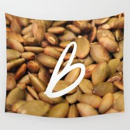 Recettes du Bonheur - foodies Wall Tapestry