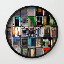 35 Puertas Wall Clock