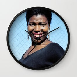 Sea Point smile Wall Clock