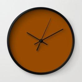 (Brown) Wall Clock