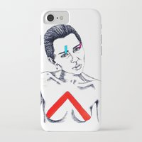 miley iPhone & iPod Cases featuring Miley by LaraLindsassy