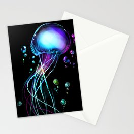 Abyssal Glow Stationery Cards