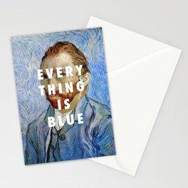 Vincent van Gogh, Self portrait (1889) / Halsey, Colors (2015) Stationery Cards