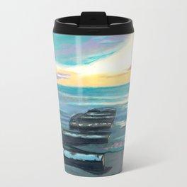 Broken Pier Travel Mug