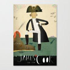 James Cook Canvas Print