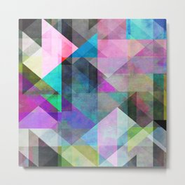 Color Blocking 3 Metal Print