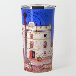 Joan Miro House with Palm Tree Travel Mug