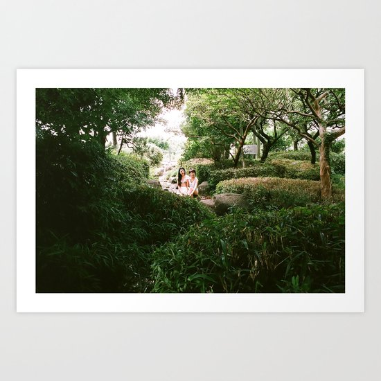 じゅんこ&まり Art Print