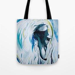 Borzoi Blues Tote Bag