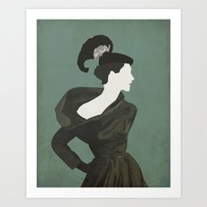 Fashion. Vogue. Art Print