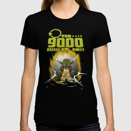 Over 9000 it is - Yoda T-shirt