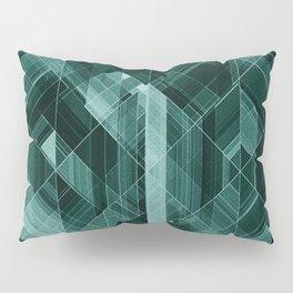 Abstract green pattern Pillow Sham