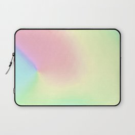 Pastel pink teal aqua watercolor ombre pattern Laptop Sleeve