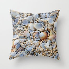 To Shell Or Not To Shell Throw Pillow