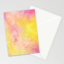 Pink Lemonade Galaxy Stationery Cards