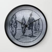 running Wall Clocks featuring Running by Paul Simms