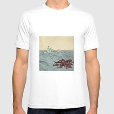 Paper Cranes Mens Fitted Tee White MEDIUM