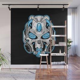 Cyberskull Wall Mural