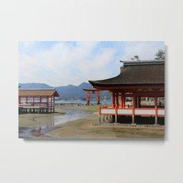 Utsukushima Shrine Metal Print
