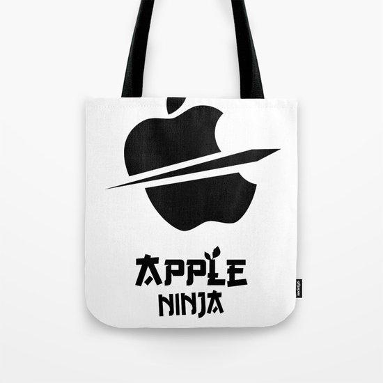 Apple Ninja Tote Bag