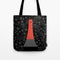 fargo Tote Bags featuring Fargo by Lorcy