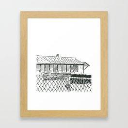 Kwa-Zulu Natal Factory  Closed Framed Art Print