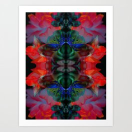 The Passion of Flowers Art Print