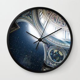 DIVINE PLACE Wall Clock