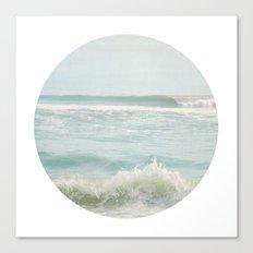 By the Sea ~ Circular Canvas Print