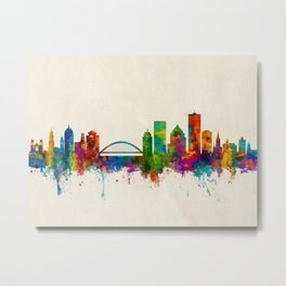 Rochester New York Skyline Metal Print