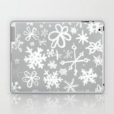 Snowflake Concrete Laptop & iPad Skin