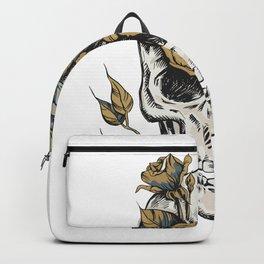 Flower Skull Best Gift Backpack