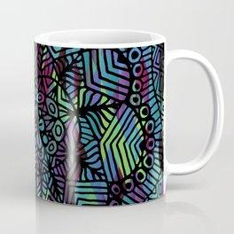 Purple and Green Doodle 14 Coffee Mug