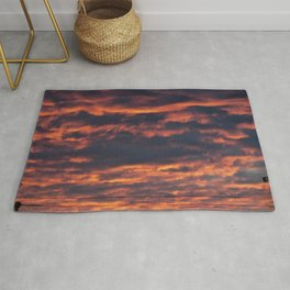Morning Sky | Clouds Rug