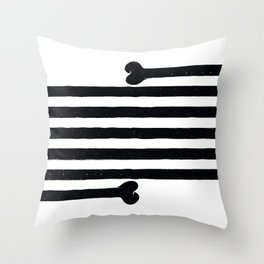 (Very) Long Bone Throw Pillow
