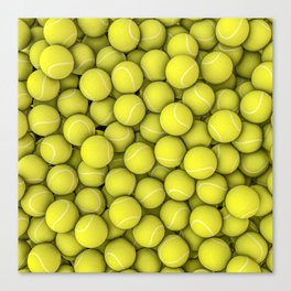 Tennis balls Canvas Print