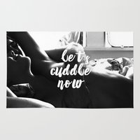 cuddle Area & Throw Rugs featuring Let's cuddle now by Forbidden Designs