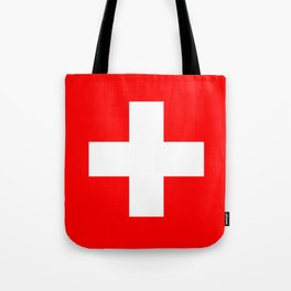 flag of Switzerland Tote Bag
