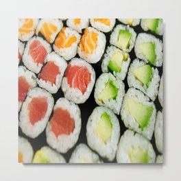 sushi,seaweed, Metal Print